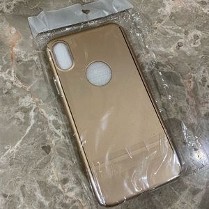 New IPhone X gold case